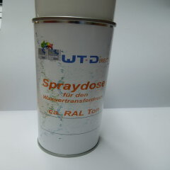 Spraydose Grau RAL 7037