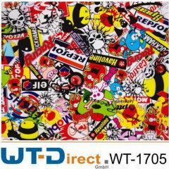 Sticker Bomb Design WT-1705 in 50 cm Breite