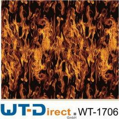 Flammen Design WT-1706 in 100 cm Breite