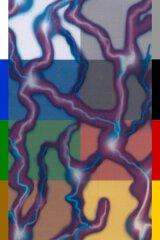 Blitze Pink / Lila Grob I-077-1