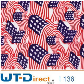 US Flags Design I-136