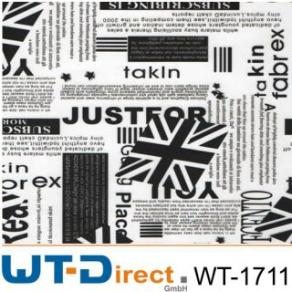 Sticker Black and White WT-1711