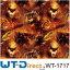 Wolf mit Flammen WT-1717H