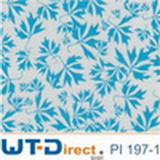 Flower Blau 2 Design PI-197-1