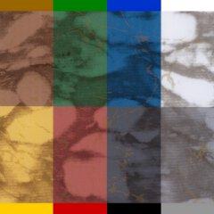 Marmor Gold / Schwarz H-030
