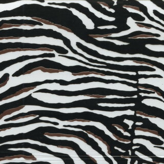 Zebra pattern with brown I-100