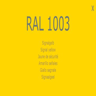 1-component base coat RAL 1003 signal yellow