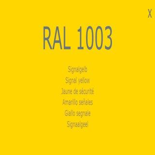 1-K Base Coat RAL 1003 Signalgelb