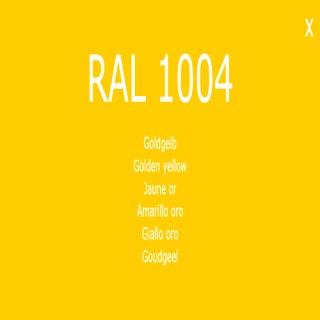 1-K Base Coat RAL 1004 Goldgelb