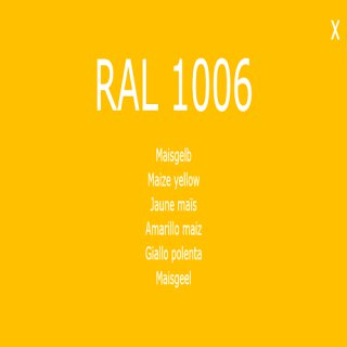 1-K Base Coat RAL 1006 Maisgelb