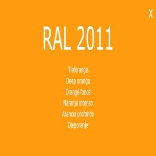 Kopie von 1-K Base Coat RAL 2011 Tieforange 5 Liter