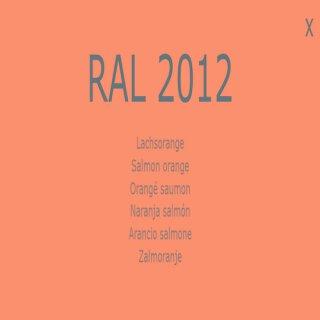 1-K Base Coat RAL 2012 Lachsorange 1 Liter