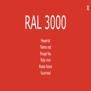 1-K Base Coat RAL 3000 Feuerrot