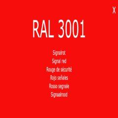 1-K Base Coat RAL 3001 Signalrot 2,5 Liter