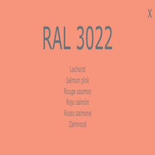 1-K Base Coat RAL 3022 Lachsrot