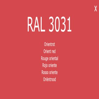 1-K Base Coat RAL 3031 Orientrot