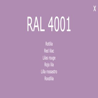 1-K Base Coat RAL 4001 Rotlila