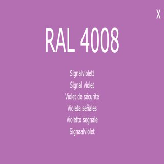 1-K Base Coat RAL 4008 Signalviolett