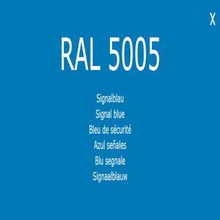 1-K Base Coat RAL 5005 Signalblau