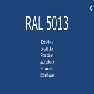 1-K Base Coat RAL 5013 Kobaltblau