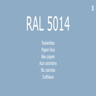 1-K Base Coat RAL 5014 Taubenblau