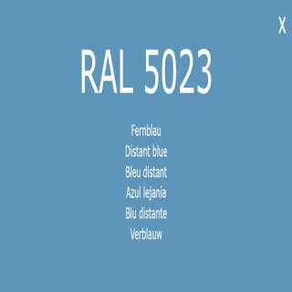 1-K Base Coat RAL 5023 Fernblau