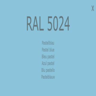 1-K Base Coat RAL 5024 Pastellblau