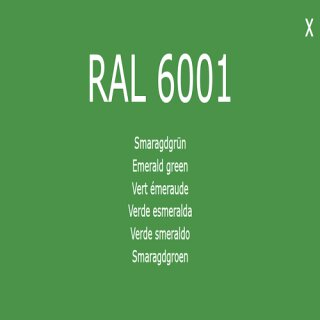 1-K Base Coat RAL 6001 Smaragdgrün