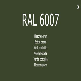 1-K Base Coat RAL 6007 Flaschengrün