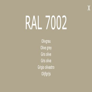 1-K Base Coat RAL 7002 Olivegrau