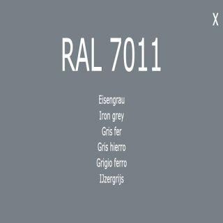 1-K Base Coat RAL 7011 Eisengrau