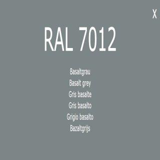 1-K Base Coat RAL 7012 Basaltgrau 1 Liter
