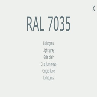 1-K Base Coat RAL 7035 Lichtgrau