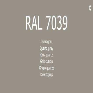 1-K Base Coat RAL 7039 Quarzgrau 1 Liter