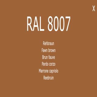 1-component base coat RAL 8007 fawn