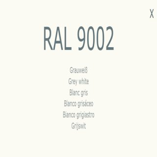 1-component base coat RAL 9002 gray-white