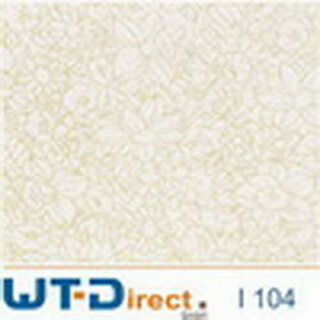 Flower Gold Design I-104 in 50 cm Breite
