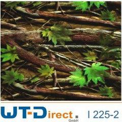 Herbstblätter Grün Design I-225-2 in 50 cm Breite