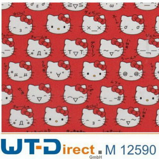 Hello Kitty Design M-12590 in 45 cm Breite