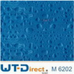 Wassertropfen Blau Fein Design M-6202  in 45 cm Breite